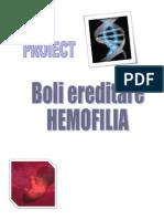 Proiect-HEMOFILIA