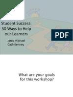 success workshop