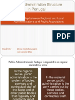 Public Administration in Portugal