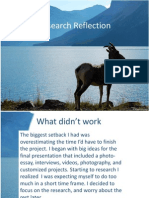 research reflection
