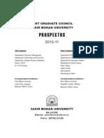 Prospectous of Fm University
