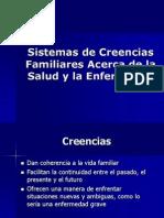 Sistemas de Creencias Familiares Acerca de La Salud