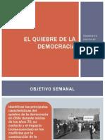 01 El Quiebre Democrático