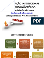 A Avaliação Institucional Na Educação Básica 2014.1 Final