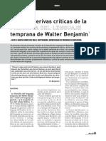 137279608 Critica a La Filosofia Del Lenguaje de Walter Benjamin