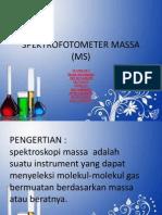 Spektrofotometer Massa (Ms)
