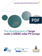 2 Large Scale Solar PV August 2012