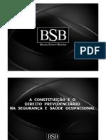 A Constituição e o Direito Previdenciário Na SSO.