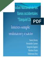 Interes Simple y Exacto