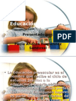 Educación Preescolar