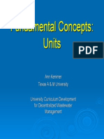 Fundamental Concepts 4 Units