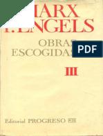 Marx Engels Obras Escogidas Tomo III