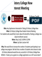 140423 College Now Interest Meeting Flyer US History
