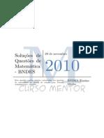 Soluc3a7c3b5es de Questc3b5es de Concurso Matemc3a1tica Bndes v1 7