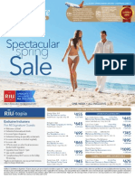 Signature Vacations Spectacular Spring Sale