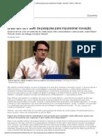 Brasil Tem de Ir Além Da Pesquisa Para Impulsionar Inovação - Economia - Notícia - VEJA (2)