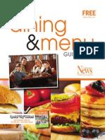 Dining & Menu 2014