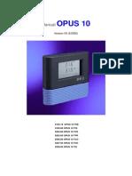 Manual Barômetro OPUS10