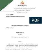 Posta- Trabalho Fundamentos Sociologia 2