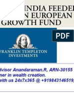 Franklin India Feeder - Franklin European Growth Fund NFO Application form Wealth Advisor Anandaraman +919843146519