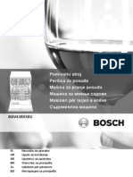 Bosch SGV43E93EU Manual