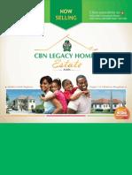 CBN Legacy Homes Brochure