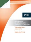 Programas de Estudio 2011. Sec.educacion Fisica.