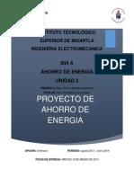 Ahorro de Energia Proyectowendy