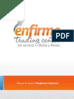 Manual de Usuario - Plataforma Profesional
