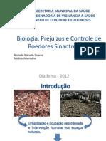Biologia, Prejuízos e Controle de Roedores Sinantrópicos