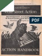 Earth Day Wall Street Action Handbook