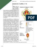 Regimiento de Infantería Castilla n.º 16 - Wikipedia, La Enciclopedia Libre