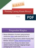 Pantang Larang Kaum Bisaya.pptx
