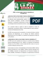 Documento Oficial Foro2014 JQP