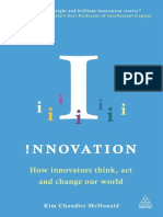Innovation-How Innovators Think