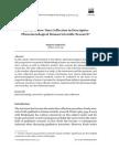 Englander 2012 the Interview Data Collection in Descriptive Phenomenological Human Scientific Research