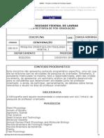 DBI819 -- Pesquisa Orientada Em Fisiologia Vegatal I