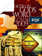 Ever Increasing Faith Ministries' 2009 Focus on God's Word Fall Catalog