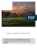 Data Examples and DCS GIFE 2014