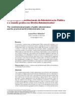 Os princípios constitucionais da Administração Pública e o mundo prático no Direito Administrativo.pdf