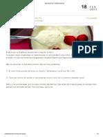 Iogurte Grego _ Cozinha Pequena