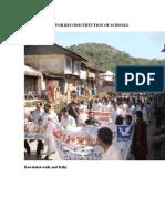 Images Walks for Reconsctruction of Schools