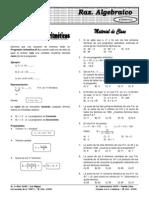 Álgebra ELITE Repaso y Regularizacion 13.2