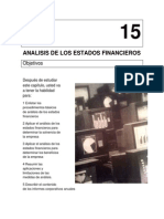 Capitulo 15. Analisis de Los Estados Financieros