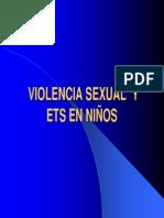 05 Violencia Sexual y ETS Ninos
