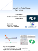 Lw Chen Nano Materials for Solar