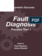 Psychometric Success Fault Diagnosis - Practice Test 1