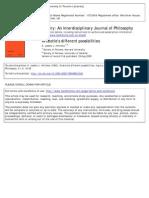 Inquiry (Taylor & Francis) Volume 3 Issue 1 1960 [Doi 10.1080%2F00201746008601302] Hintikka, K. Jaakko J. -- Aristotle's Different Possibilities