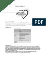 Ringkasan Konsensus Diabetes Mellitus 2011