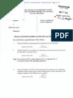 Verdict Form in Lisa Karas v. New NGC, Inc. Awarding Judgment to Plaintiff